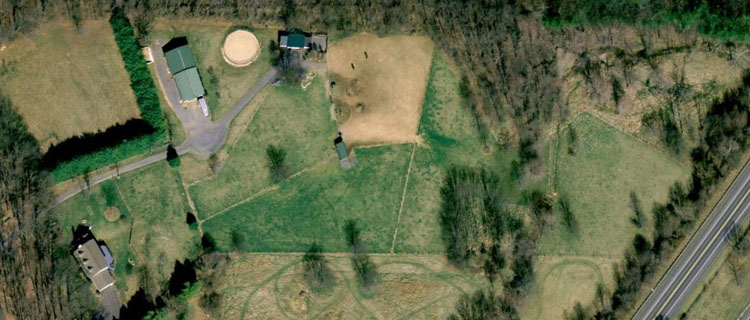 Mares Reach Farm (Google Earth)
